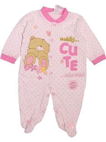 Pijama de 1 pieza niña JUMBO rosa 3 meses verano #1496583_1