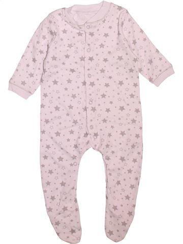 Pijama de 1 pieza niño LILY & DAN blanco 6 meses verano #1496613_1