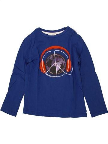 Camiseta de manga larga niño OKAIDI azul 12 años invierno #1496665_1