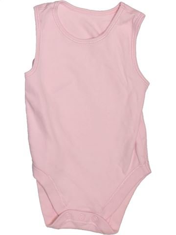 Camiseta sin mangas niña GEORGE violeta 12 meses verano #1496727_1