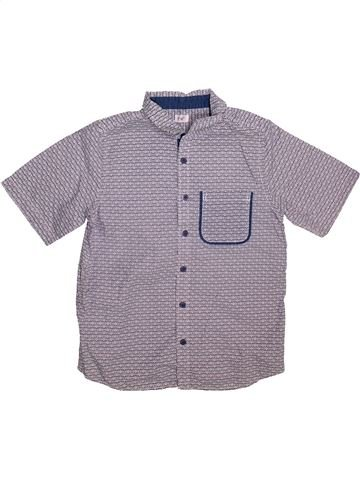 Chemise manches courtes garçon F&F gris 11 ans été #1496762_1