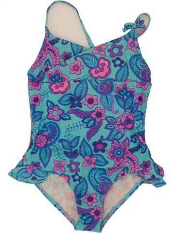 Bañador niña VERTBAUDET azul 6 años verano #1496790_1
