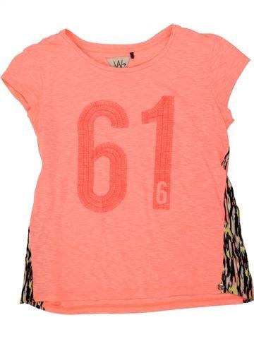 Camiseta de manga corta niña IKKS rosa 12 años verano #1496915_1