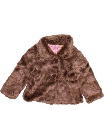 Abrigo niña F&F marrón 2 años invierno #1497044_1