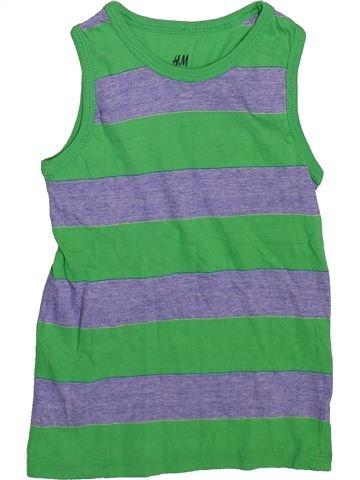 Débardeur garçon H&M vert 4 ans été #1497150_1