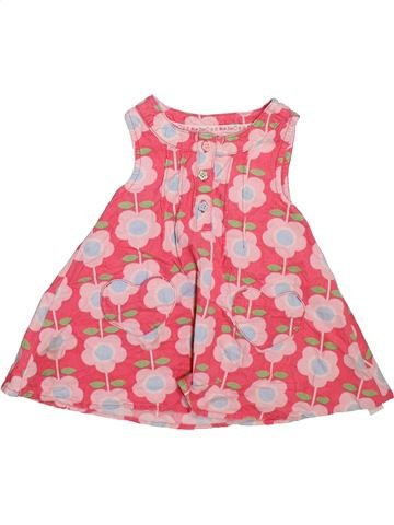 Robe fille BLUEZOO rose 6 mois hiver #1497187_1