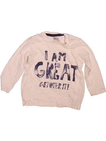 T-shirt manches longues garçon H&M violet 9 mois hiver #1497398_1