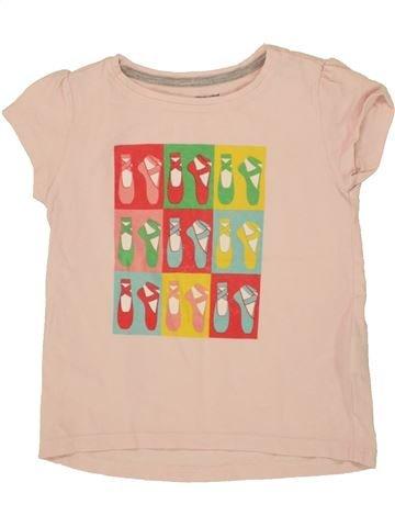 Camiseta de manga corta niña VERTBAUDET blanco 5 años verano #1497424_1