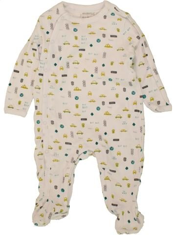 Pyjama 1 pièce garçon ORCHESTRA bleu 6 mois été #1497454_1