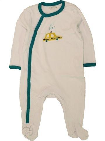 Pyjama 1 pièce garçon ORCHESTRA bleu 6 mois été #1497492_1