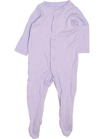 Pijama de 1 pieza niño TU violeta 9 meses verano #1497624_1