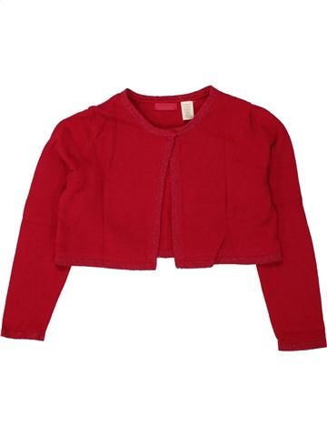 Gilet fille OKAIDI rouge 6 ans hiver #1497678_1