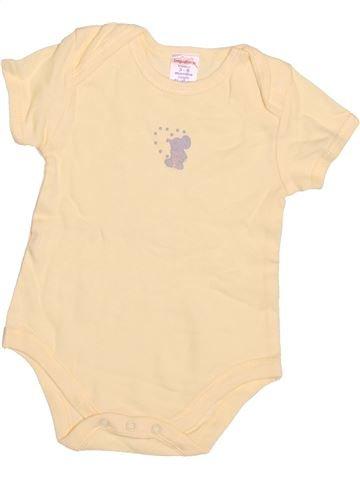 T-shirt manches courtes garçon IMPIDIMPI beige 6 mois été #1497702_1