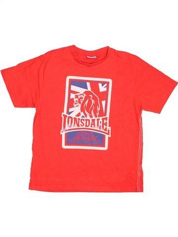 Camiseta de manga corta niño LONSDALE rojo 10 años verano #1497718_1