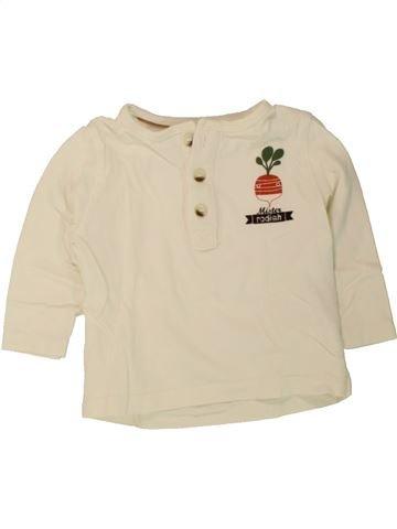 T-shirt manches longues garçon KIABI beige 6 mois hiver #1497749_1