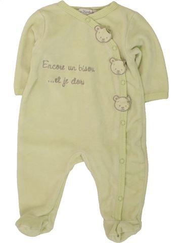 Pijama de 1 pieza niño KIMBALOO beige 1 mes invierno #1497772_1