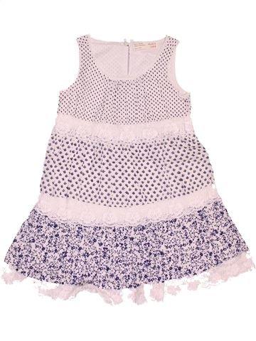Vestido niña ZARA blanco 4 años verano #1497817_1