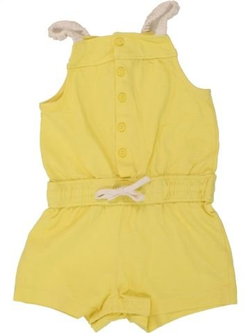 Combinación corta niña OKAIDI amarillo 18 meses verano #1497913_1