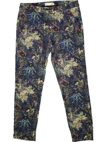 Pantalón corto niña ZARA gris 14 años verano #1498066_1