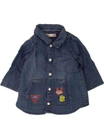 Camisa de manga larga niño DPAM azul 3 meses invierno #1498068_1