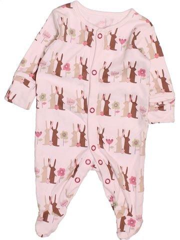 Pyjama 1 pièce fille NEXT rose 1 mois été #1498093_1