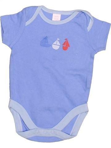 Camiseta de manga corta niño MINI CLUB azul 3 meses verano #1498095_1