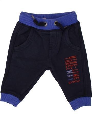 Pantalon garçon GRAIN DE BLÉ bleu 3 mois hiver #1498103_1