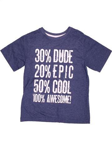 Camiseta de manga corta niño PRIMARK violeta 7 años verano #1498115_1