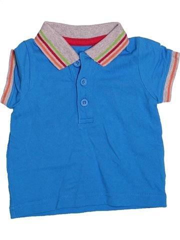 Polo manches courtes garçon MOTHERCARE bleu 6 mois été #1498143_1
