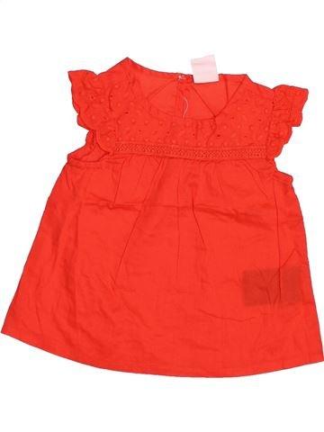 Blusa de manga corta niña H&M rojo 6 meses verano #1498204_1