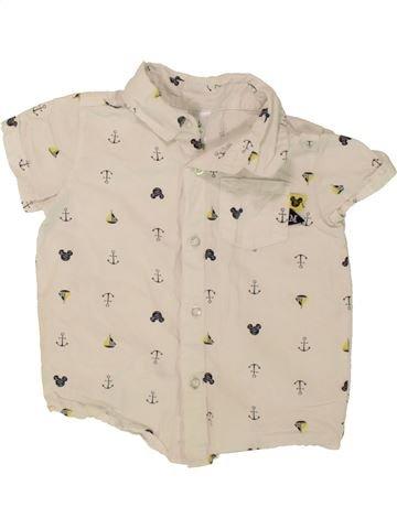 Camisa de manga corta niño C&A beige 2 años verano #1498231_1