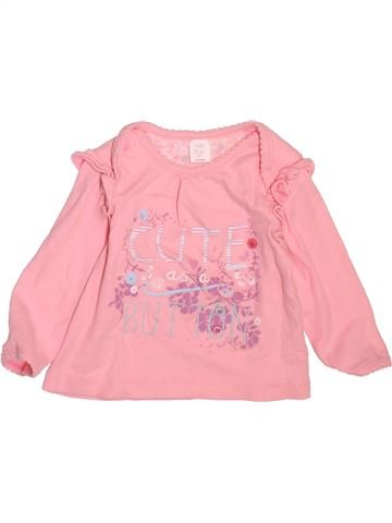 T-shirt manches longues fille MINI CLUB rose 9 mois hiver #1498387_1