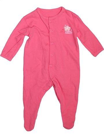 Pyjama 1 pièce fille DUNNES STORES rose 6 mois été #1498390_1
