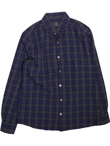 Chemise manches longues garçon NEXT bleu 11 ans hiver #1498392_1