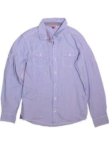 Chemise manches longues garçon JOHN LEWIS gris 10 ans hiver #1498406_1