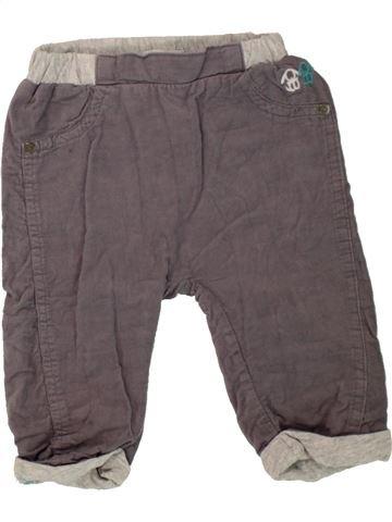 Pantalon garçon OKAIDI gris 6 mois hiver #1498440_1