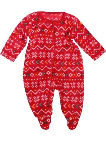 Robe de chambre unisexe NUTMEG rouge 3 mois hiver #1498481_1