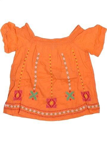 Camiseta de manga corta niña GAP naranja 2 años verano #1498492_1