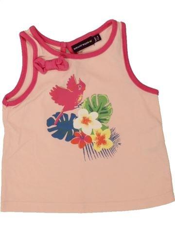 Camiseta sin mangas niña SERGENT MAJOR rosa 9 meses verano #1498499_1