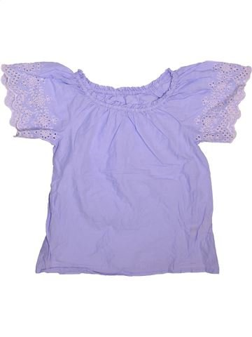Blusa de manga corta niña NUTMEG violeta 11 años verano #1498539_1