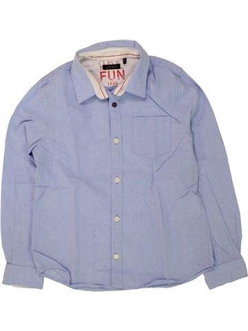 Chemise manches longues garçon IKKS bleu 6 ans hiver #1498544_1