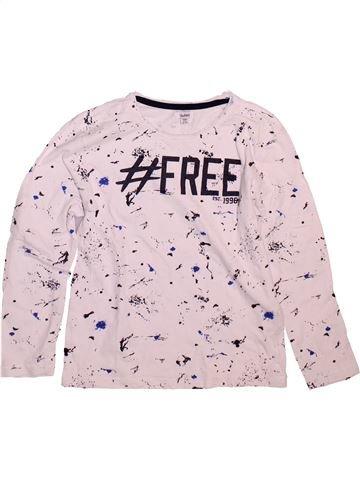 Camiseta de manga larga niño BLUKIDS violeta 9 años invierno #1498556_1