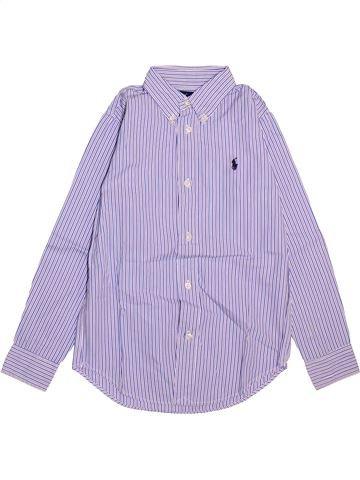 Chemise manches longues garçon RALPH LAUREN gris 7 ans hiver #1498559_1
