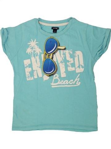 T-shirt manches courtes garçon KIABI bleu 5 ans été #1498598_1