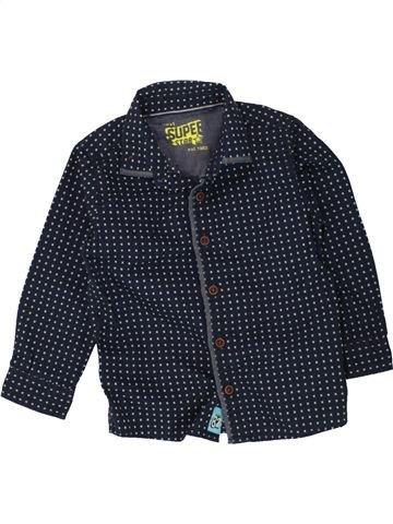 Chemise manches longues garçon NEXT bleu foncé 2 ans hiver #1498655_1