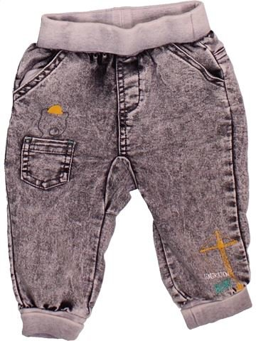 Pantalon garçon ORCHESTRA gris 9 mois hiver #1498672_1
