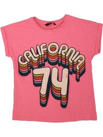 Camiseta de manga corta niña GEORGE rosa 10 años verano #1498683_1