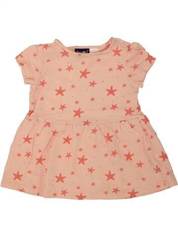 Camiseta de manga corta niña LUPILU rosa 6 meses verano #1498689_1
