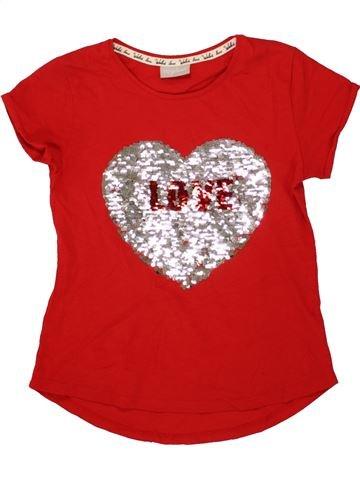 Camiseta de manga corta niña MATALAN rojo 9 años verano #1498709_1