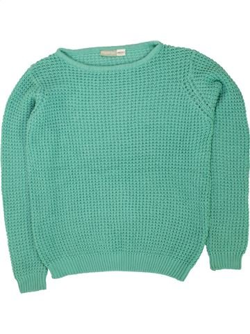 Pull fille PEPPERTS vert 12 ans hiver #1498727_1